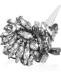 Erickson Beamon - Modern Mughal Swarovski Crystal Ring - Lyst