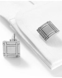 Kenneth Cole Reaction Brushed Rhodium Square Boxed Set - Lyst