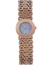 Carolee - Womens Bronze Tone Stainless Steel Bracelet 22mm - Lyst