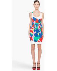 Marc By Marc Jacobs Multicolor Silk Blend Knit Dress - Lyst