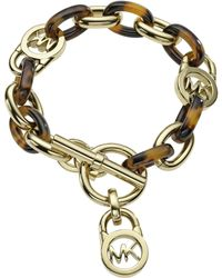 Michael Kors Toggle Link Bracelet animal - Lyst