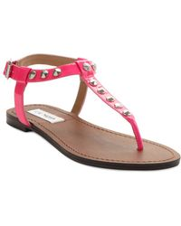 Steve Madden Virrtue Flat Sandals - Lyst