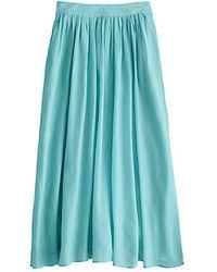 J.Crew Jardin Maxi Skirt blue - Lyst