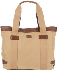 Brooks Brothers Cotton Shopper Bag - Lyst