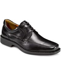 Ecco Seattle Apron Toe Oxfords black - Lyst