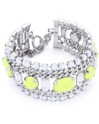 Juicy Couture - Multi Layer Gem Bracelet - Lyst