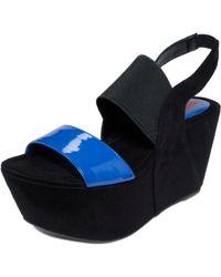 Kensie Marylynn Platform Wedge Sandals - Lyst