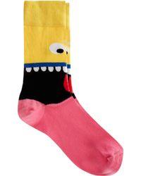 Lazy Oaf - Lazy Oaf Mouthy Socks - Lyst