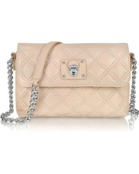 Marc Jacobs The Single Blush Leather Shoulder Bag - Lyst
