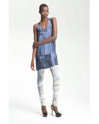 Kelly Wearstler Cadmium Print Tunic Dress - Lyst