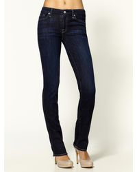 7 For All Mankind Kimmie Straight Leg Jeans - Lyst