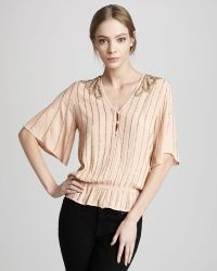 Boyod Lilia Beaded Top - Lyst