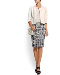 Mango Animal Print Tube Skirt - Lyst