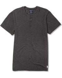 Polo Ralph Lauren Stretch modal Henley Tshirt - Lyst