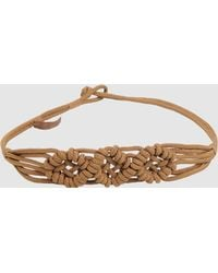 Max Mara Belt brown - Lyst