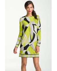 MICHAEL Michael Kors Print Shift Dress - Lyst