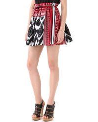 L.A.M.B. - Print Skirt - Lyst