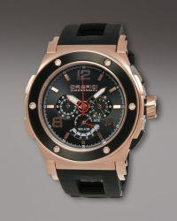 Orefici Watches - Regatta Yachting Chronograph Watch, Black - Lyst