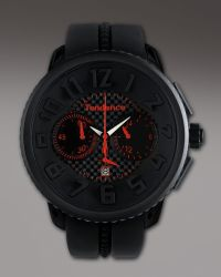 Tendence - 50mm Gulliver Chronograph Watch, Black - Lyst