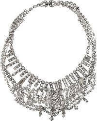 Tom Binns - Dumont Swarovski Crystal Necklace - Lyst