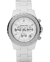 Michael Kors Glitz Acrylic Watch - Lyst
