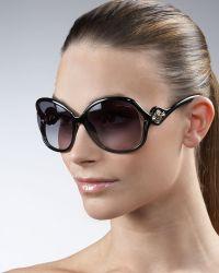 Roberto Cavalli Opentemple Sunglasses - Lyst