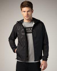 Burberry Sport - Hooded Logo Jacket - Lyst