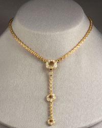 Di Modolo | Tempia Y Necklace with Detachable Drop | Lyst