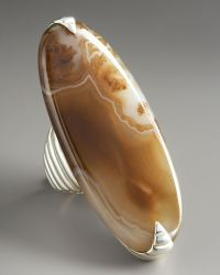 John Hardy Bedeg Agate Ring - Lyst