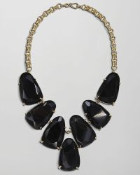 Kendra Scott - Harlow Necklace, Black Onyx - Lyst