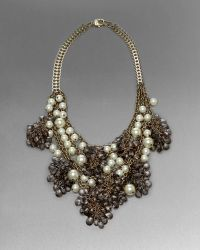 St. John - Beaded Statement Necklace - Lyst