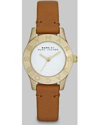 Marc By Marc Jacobs Goldtone Stainless Steel & Leather Watch - Lyst