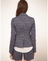 NW3 by Hobbs | Nw3 Ditsy Floral Blazer | Lyst