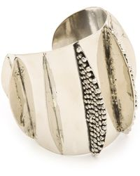 Anndra Neen - Mirror and Pin Shark Cuff - Lyst