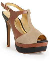 Jessica Simpson Elso Sandals - Lyst