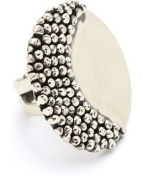 Anndra Neen - Mirror and Pin Ring - Lyst