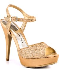 Chinese Laundry Hide Out Glitter - Lyst