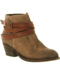 H by Hudson Horringan Strap Ankle Boot - Lyst