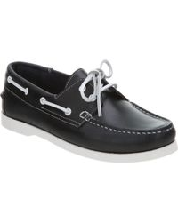 Office - Yachting Boat Shoe All Navy Blue Leather - Lyst