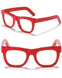 Retrosuperfuture Ciocio Clear Frame Glasses - Lyst