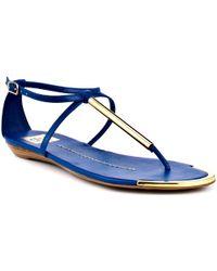 DV by Dolce Vita Archer Bright Stella Flat Sandals - Lyst