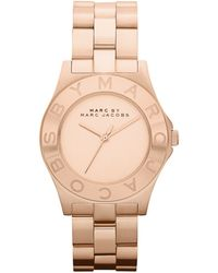 Marc By Marc Jacobs Womens Rose Gold Ion Plated Stainless Steel Bracelet 37mm - Lyst