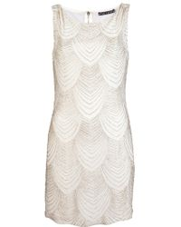 Alice + Olivia Sequin Dress - Lyst