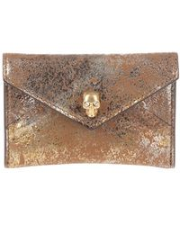 Alexander McQueen Card Holder - Lyst