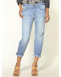 Current/Elliott The Boyfriend Crop Jeans - Lyst