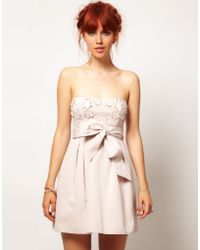 Asos Salon Prom Dress - Lyst