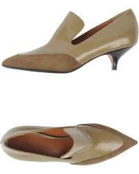 Celine Celine Moccasins with Heel - Lyst