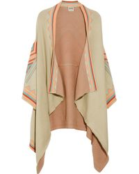 Haute Hippie - Patterned Knitted Cotton Cardigan - Lyst
