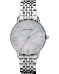 Emporio Armani Womens Stainless Steel Bracelet 32mm - Lyst