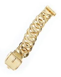 Juicy Couture Goldplated Buckle Bracelet